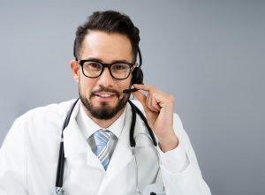 téléphonie service médical