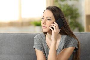 Mise en attente téléphonique
